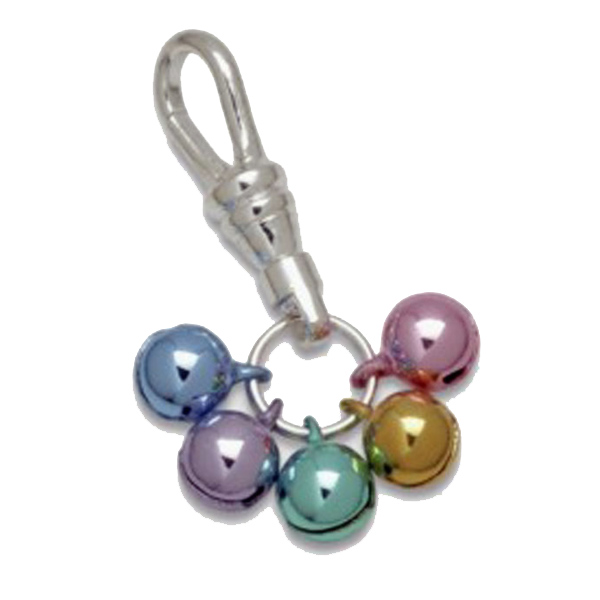Jingle Bell Colorful Tiny Dog Collar Charm or Cat Collar Charm