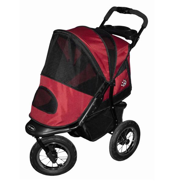 Jogger Dog Stroller - Burgundy