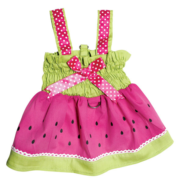 Juicy Watermelon Dog Sundress by Klippo