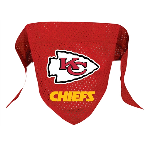 Kansas City Chiefs Mesh Dog Bandana