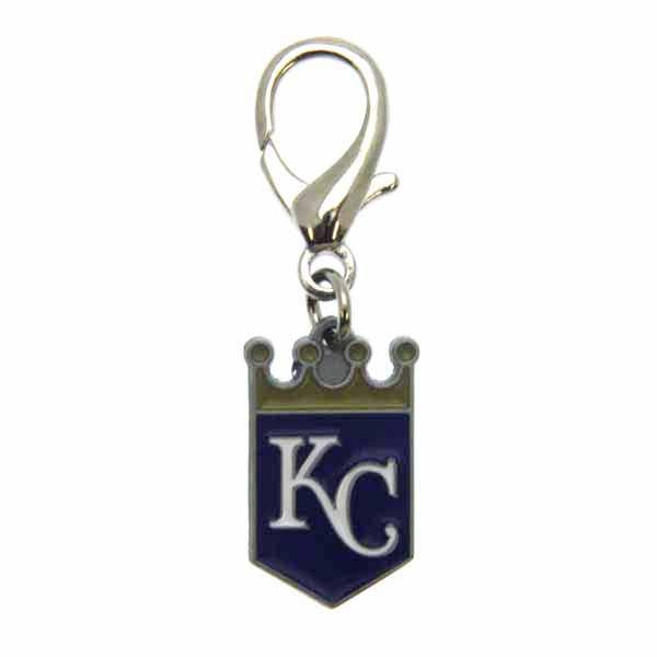 Kansas City Royals Logo Dog Collar Charm