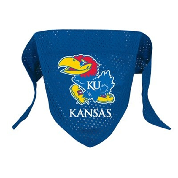Kansas Jayhawks Mesh Dog Bandana