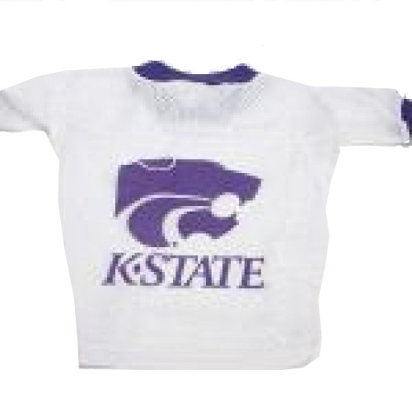 Kansas State Wildcats Dog Jersey - White