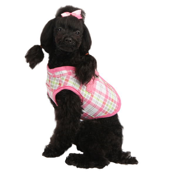 Kayla Pinka Wrap Dog Harness by Pinkaholic - Pink