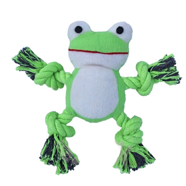 Kermey The Frog Dog Toy