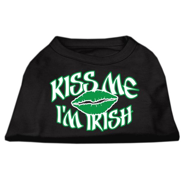 Kiss Me I'm Irish Dog Shirt