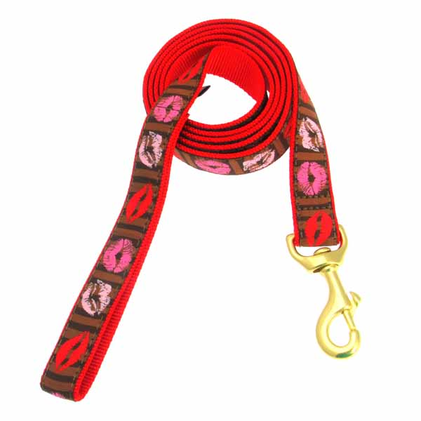 Kisses Dog Leash by Up Country