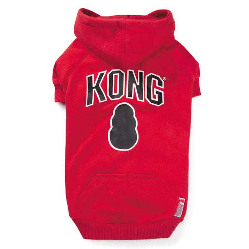 Kong Dog Hoodie - Red