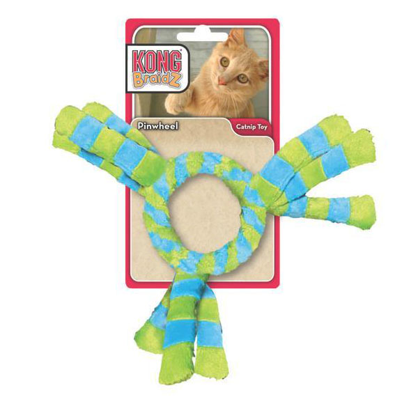 Kong Pinwheel BraidZ Cat Toy