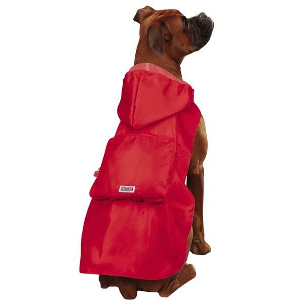 KONG Stowaway Dog Jacket - Red