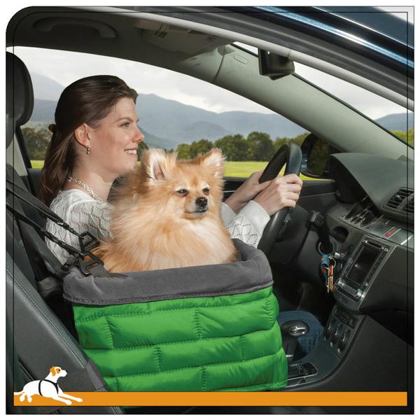 Kurgo Loft Dog Booster Seat - Green