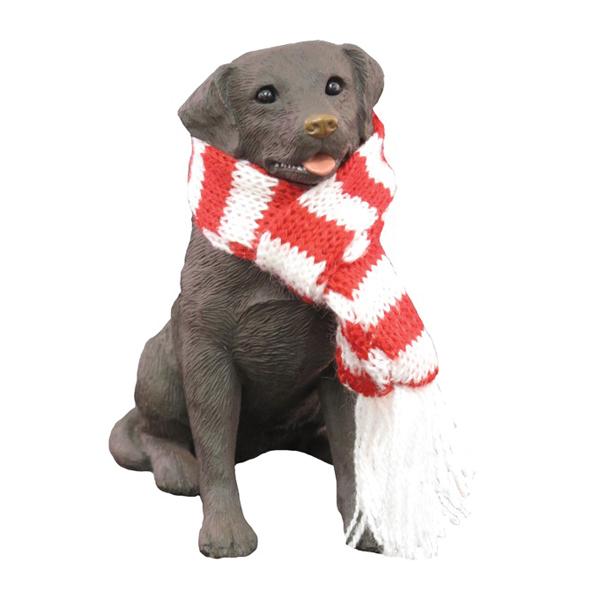 Labrador Retriever Christmas Ornament - Chocolate