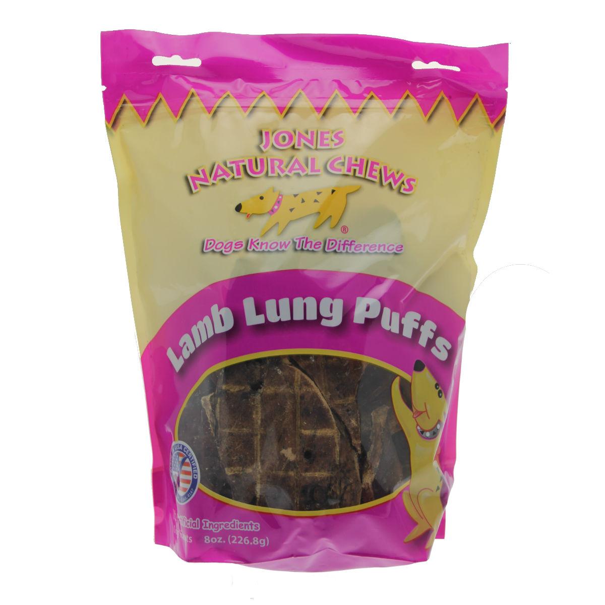Lamb Puffs Dog Treat by Jones Gourmet