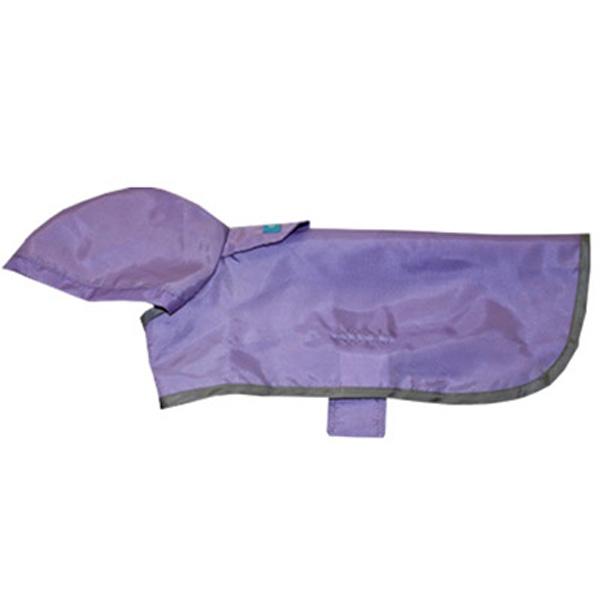 Lavender Packable Rain Poncho
