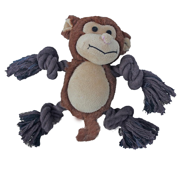 Lil' Kong Monkey Rope Dog Toy