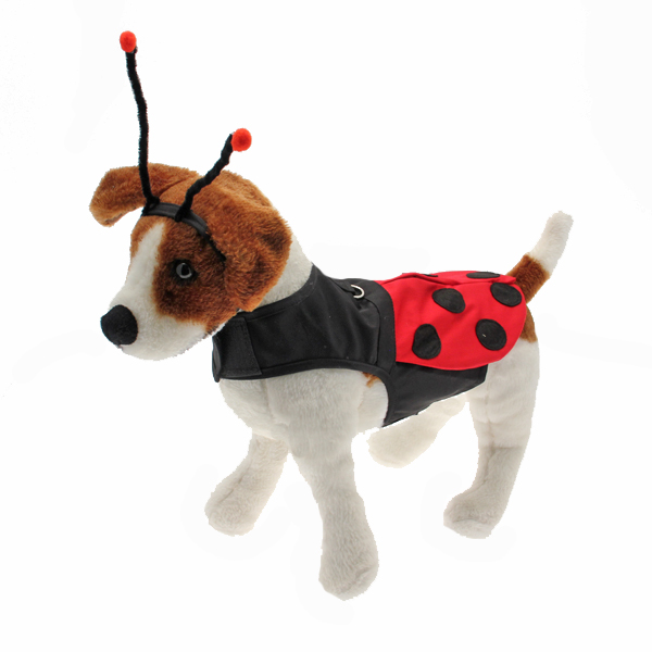 Little Ladybug Dog Costume Harness