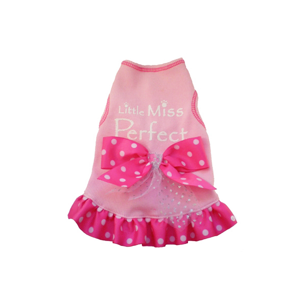 Little Miss Perfect Dog Tank Top