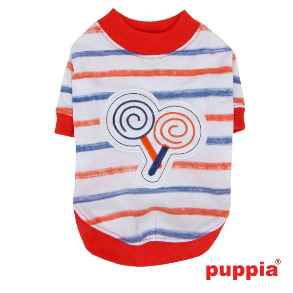 Lollipop Dog Shirt by Puppia - Orange