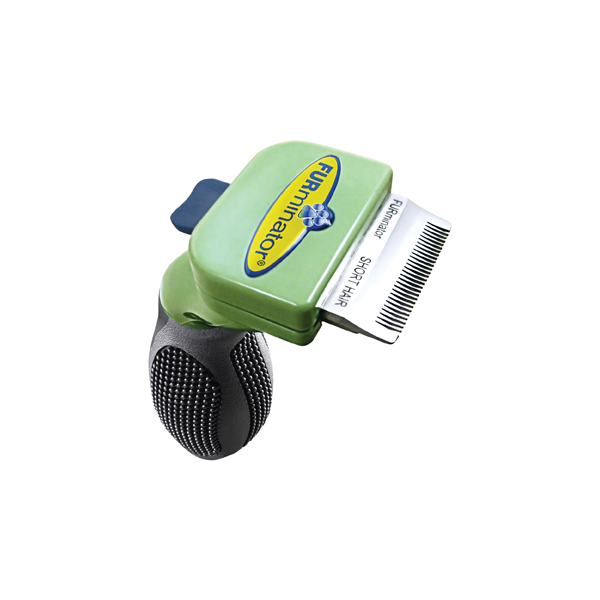 Long Hair FURminator for Toy Dogs - Light Green