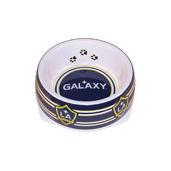 Los Angeles Galaxy Plastic Dog Bowl