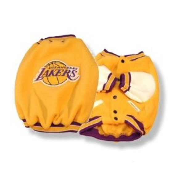 Los Angeles Lakers Fleece Dog Jacket