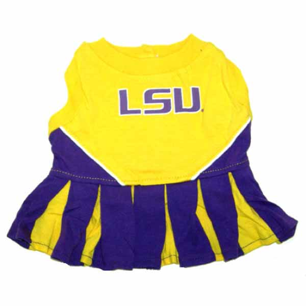 LSU Tigers Cheerleader Dog Dress
