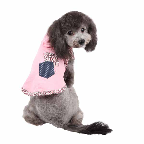Lucid Hooded Dog T-Shirt by Pinkaholic - Pink