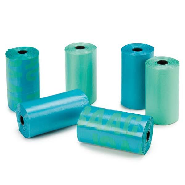 M. Isaac Mizrahi Paint Splatter Dog Waste Bags - Blue