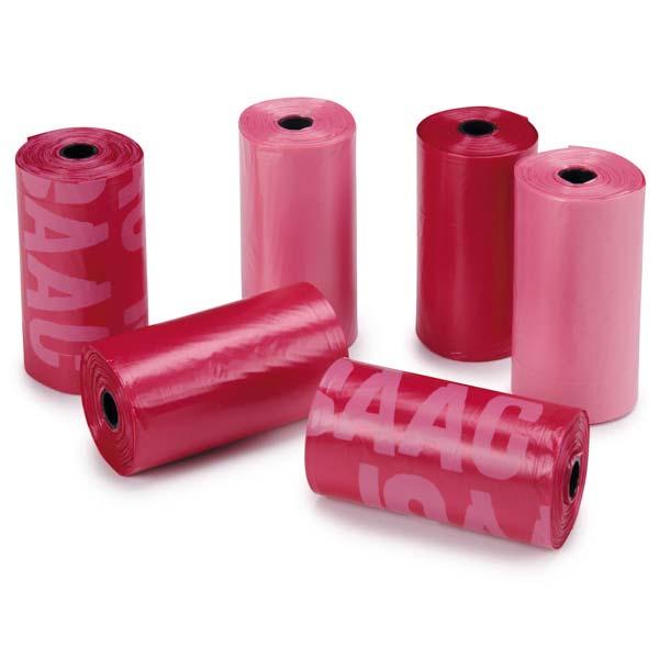 M. Isaac Mizrahi Paint Splatter Dog Waste Bags - Red