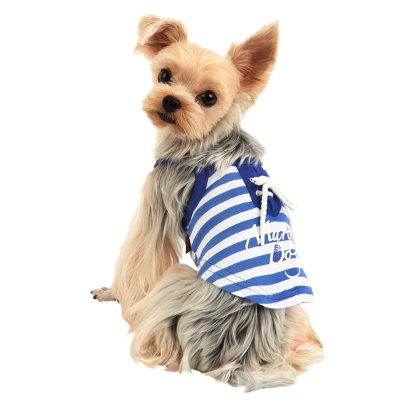 Marine Dog Shirt by Puppia - Royal Blue