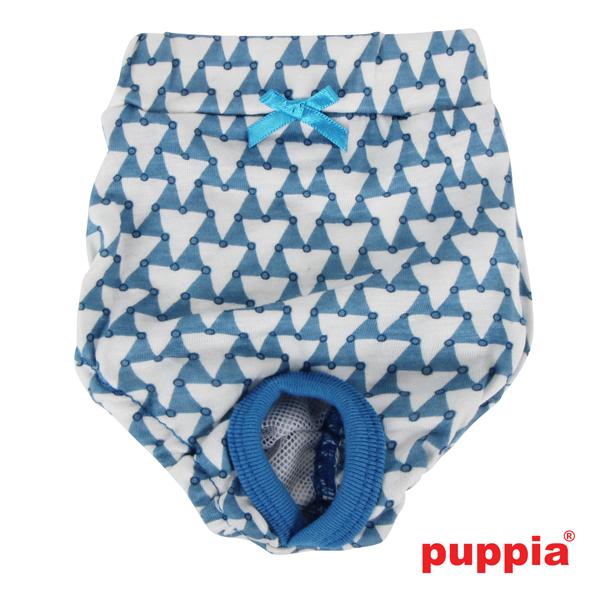 Martina Dog Sanitary Panty by Puppia - Blue