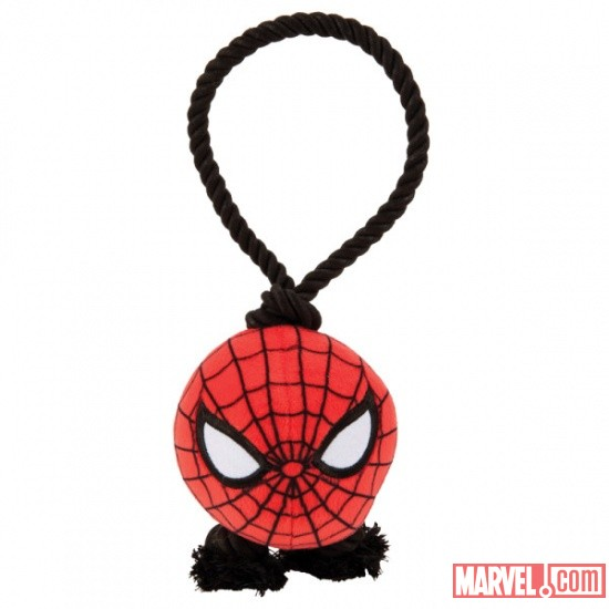 Marvel Rope Tug Dog Toy - Spider-Man