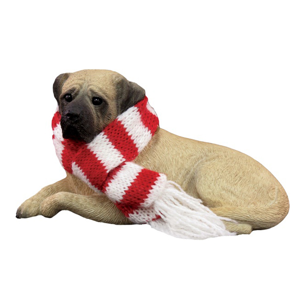 Mastiff Christmas Ornament - Fawn