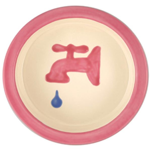 Melia Water Tap Ceramic Pet Bowl - Pink