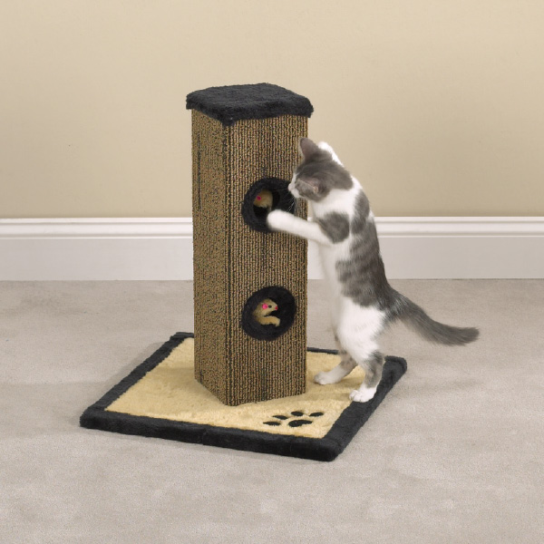 Meow Town Deluxe Scratching Post