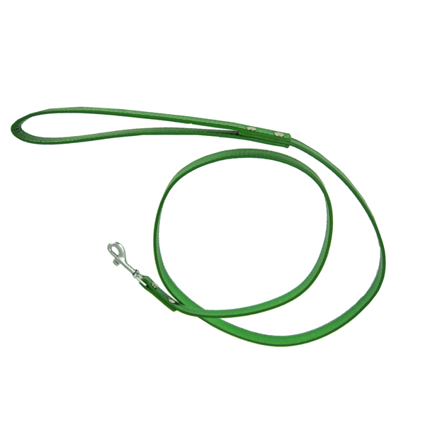 Metallic Dog Leash - Emerald Green