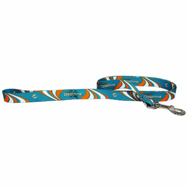 Miami Dolphins Dog Leash - Miami Dolphins