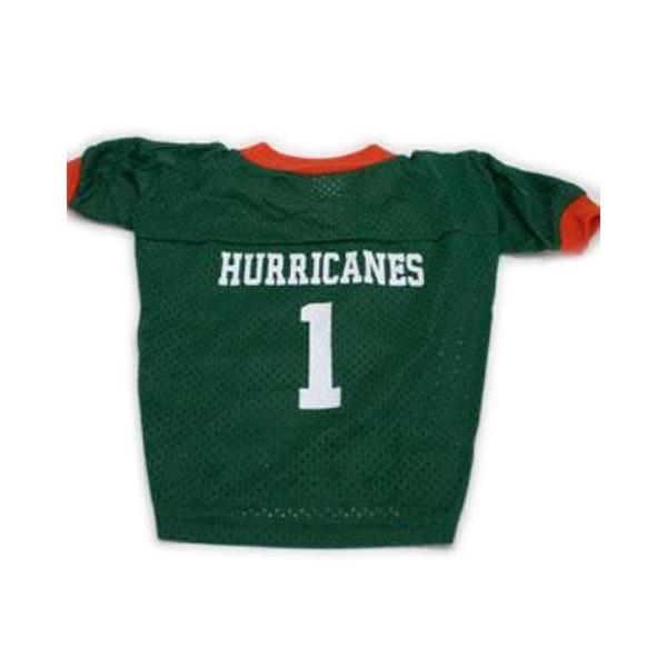 Miami Hurricanes Dog Jersey