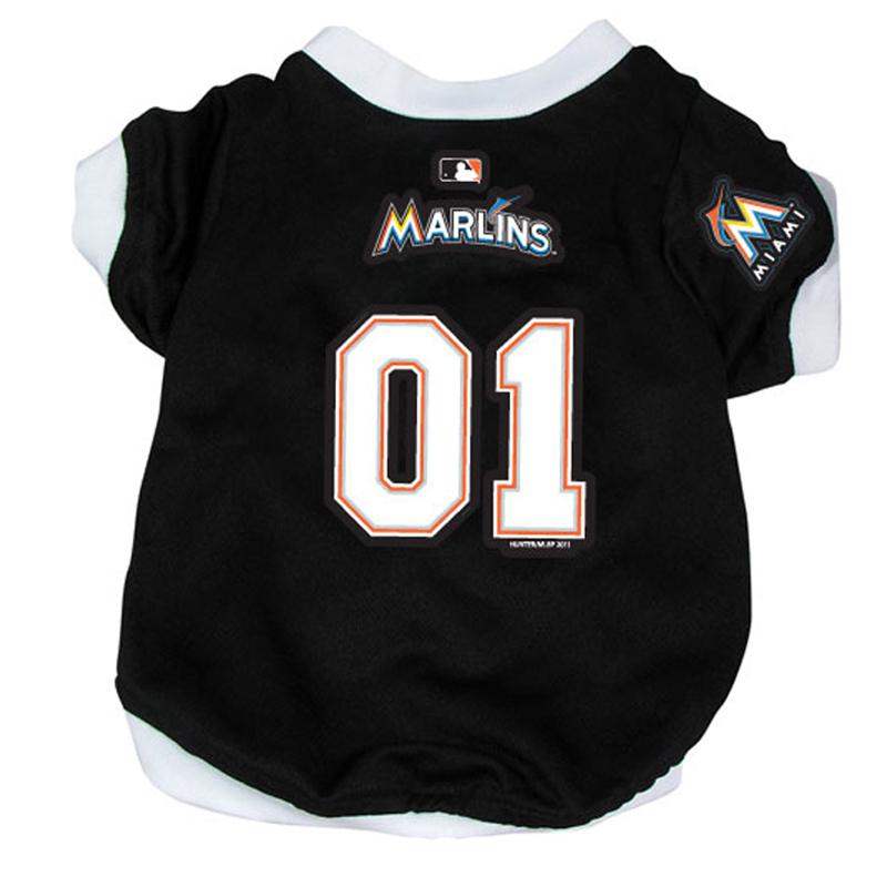 Miami Marlins Baseball Dog Jersey