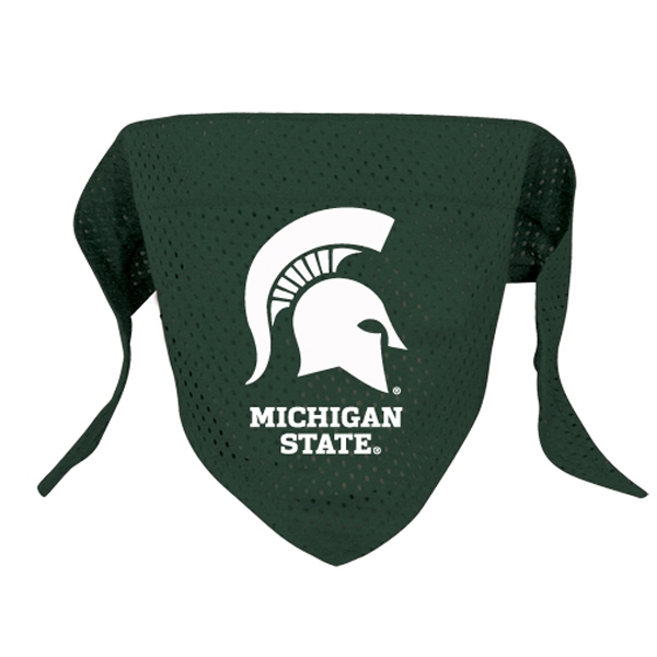 Michigan State Spartans Mesh Dog Bandana