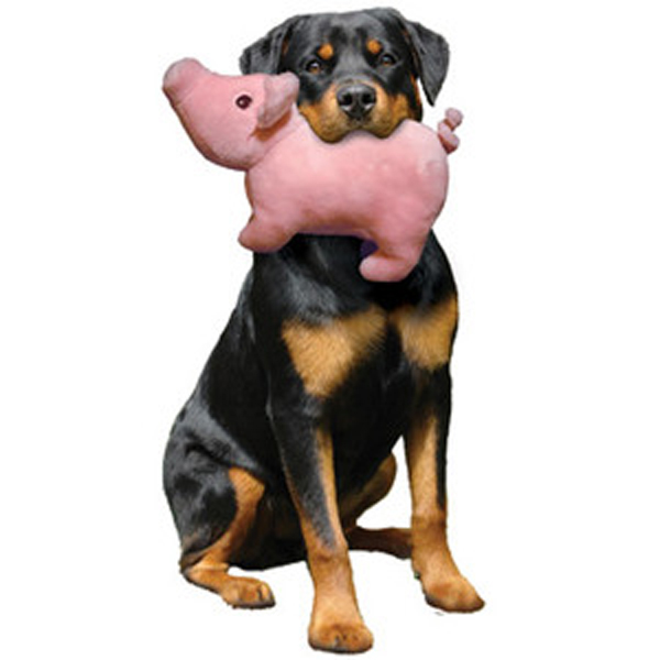 Mighty Paisley Piglet Dog Toy