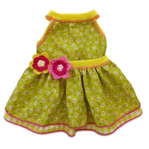 Mini Daisy Print Dog Dress