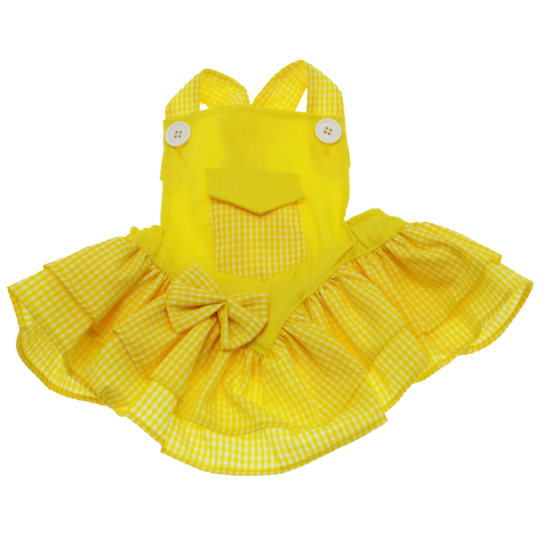 Mini Pocket Dress - Yellow