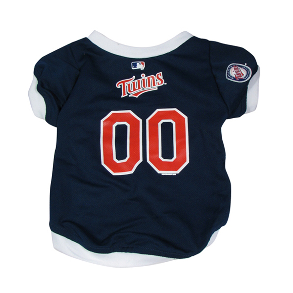 Minnesota Twins Baseball Dog Jersey