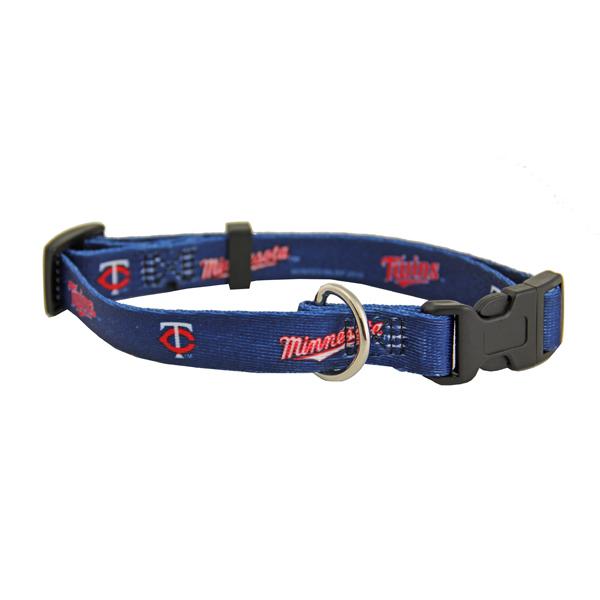 Minnesota Twins Baseball Printed Dog Collar