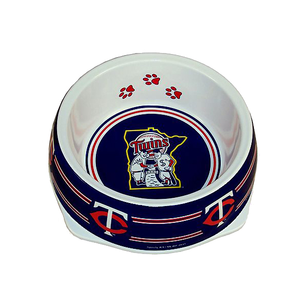 Minnesota Twins Plastic Dog Bowl