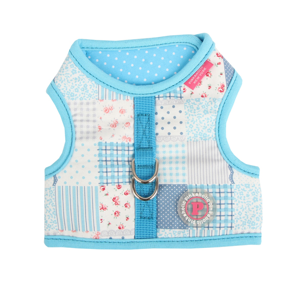 Mishmash Pinka Dog Harness by Pinkaholic - Blue
