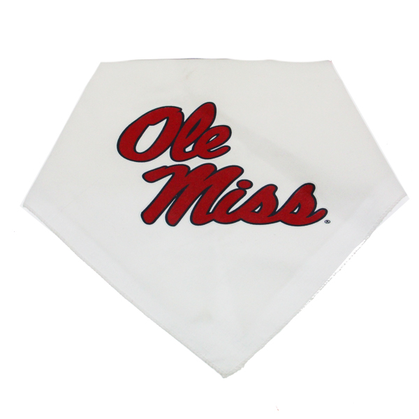Mississippi Rebels Dog Bandana