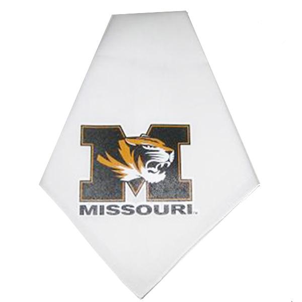 Missouri Tigers Dog Bandana