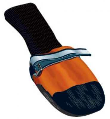 Muttluks Fleece Lined Boots - Orange